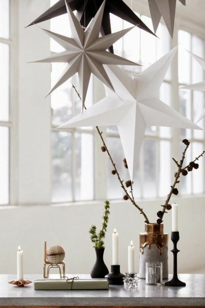 Skandinavische Weihnachtsdekoration