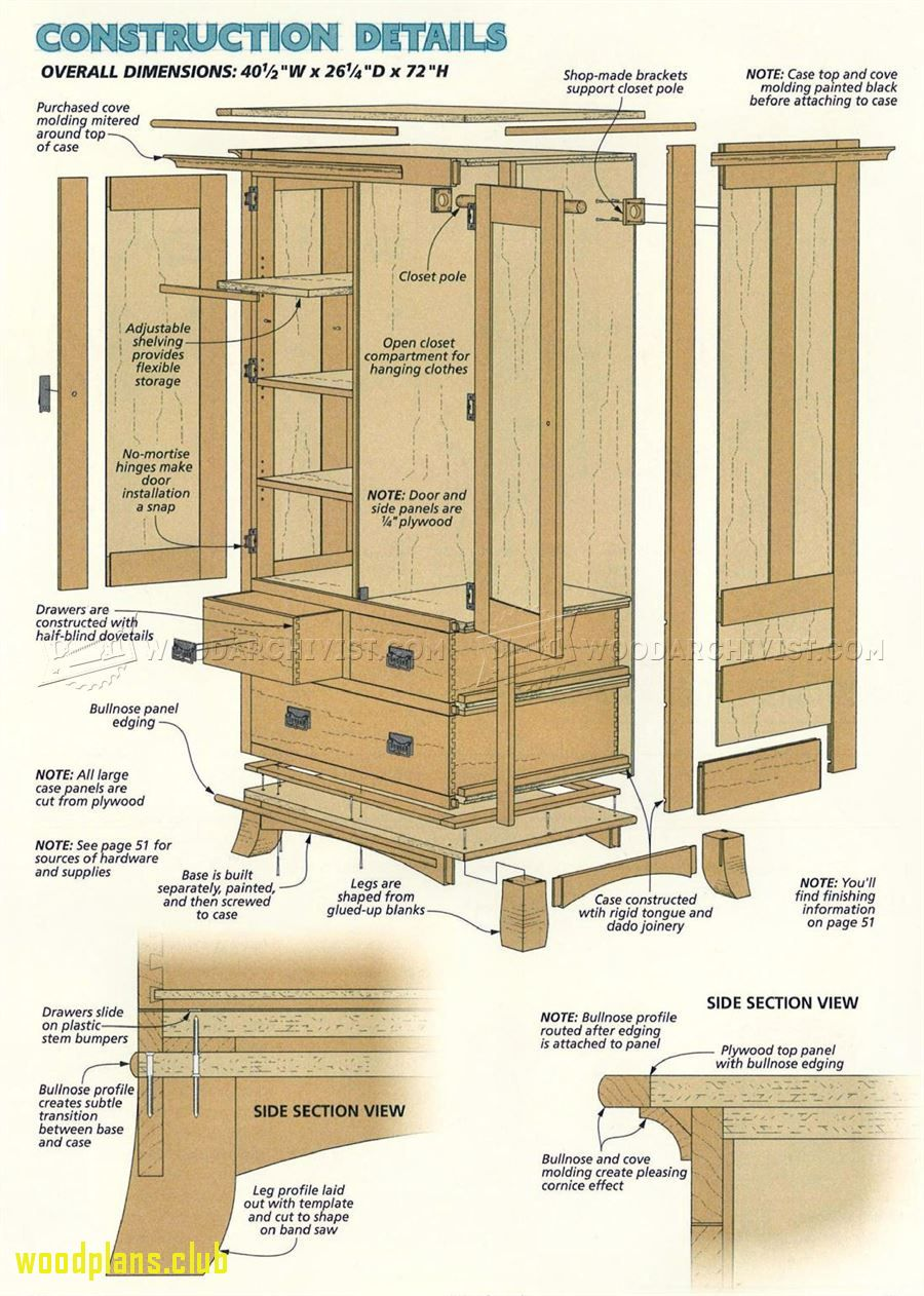 Etonnant 77+ Armoire Woodworking Plans   Best Furniture Gallery Check More At Http://