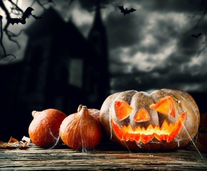 Kurbislaterne Halloween Dekoration Selber Machen #Design ...