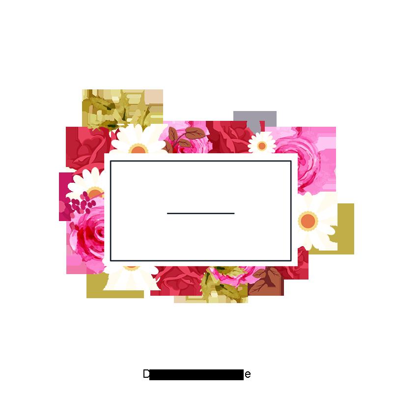 꽃 프레임, 꽃 프레임, 꽃, 틀무료 다운로드를위한 PNG 및 PSD 파일 in 2020 Flower