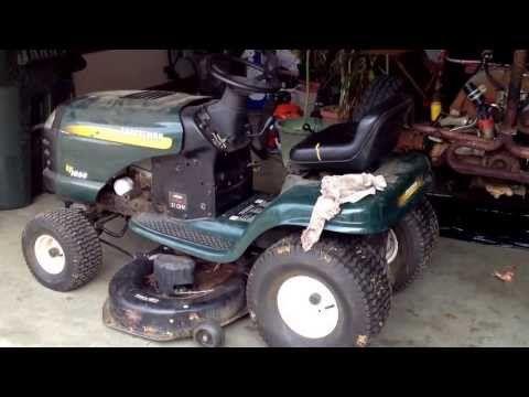 Craftsman Riding Mower Deck Belt Change Craftsman Riding Lawn Mower Riding Mower Riding Lawn Mowers