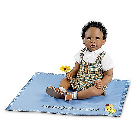 Joshua Musical Religious African Baby Doll