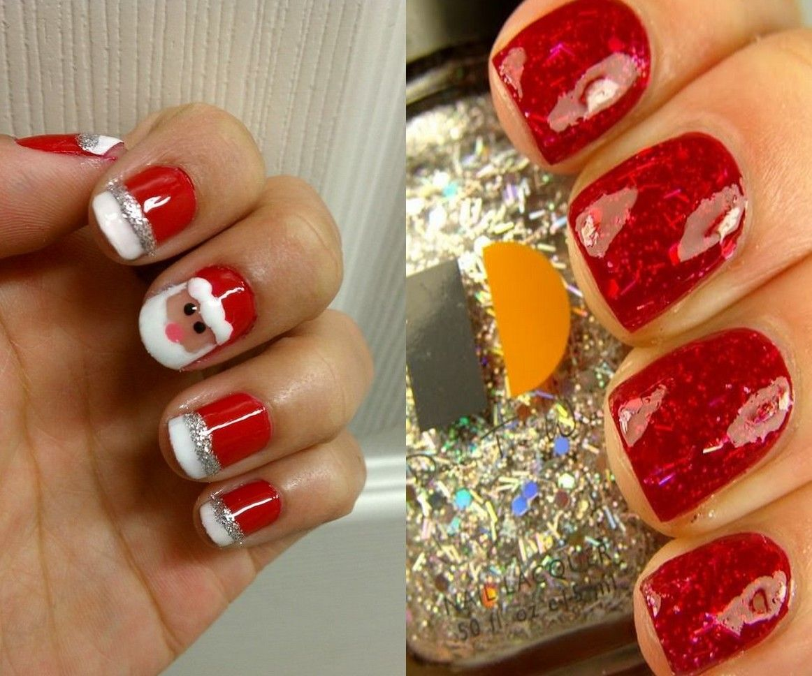 Image result for christmas acrylic nails | Themed nails | Pinterest ...