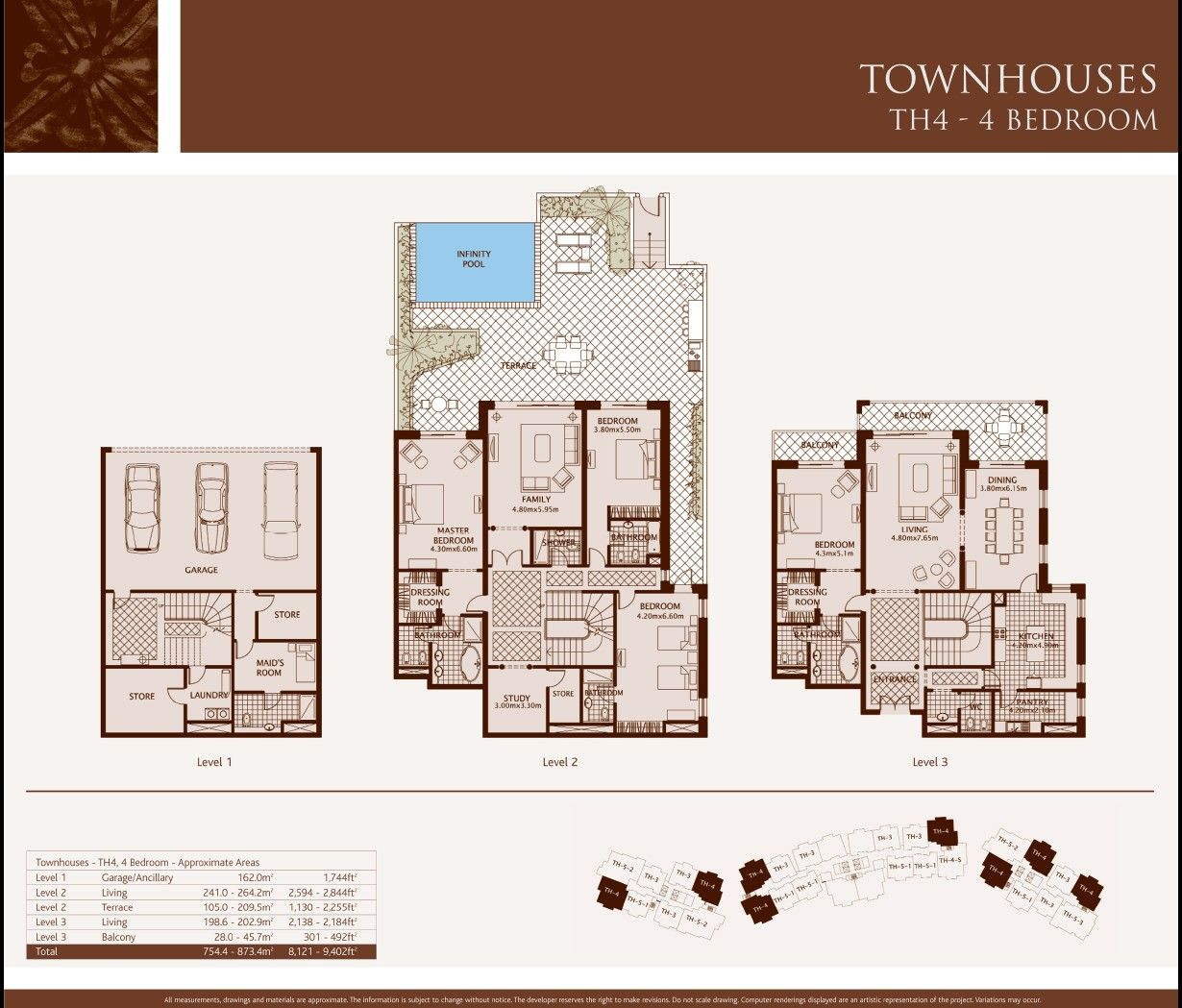 Fresh townhouse floorplans cool home design contemporary for Contemporary townhouse plans