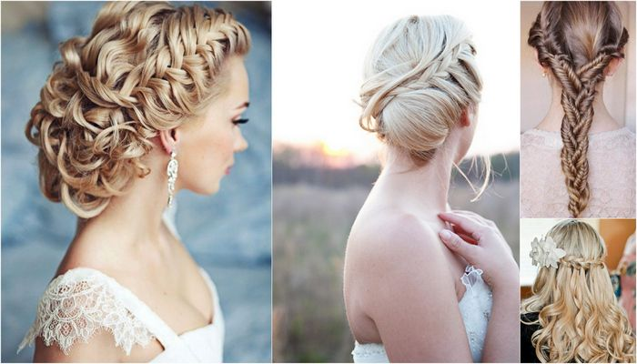 35 Wedding Updo Hairstyles For Long Hair From Ulyana Aster: Swoonworthy Braided Wedding Hairstyles