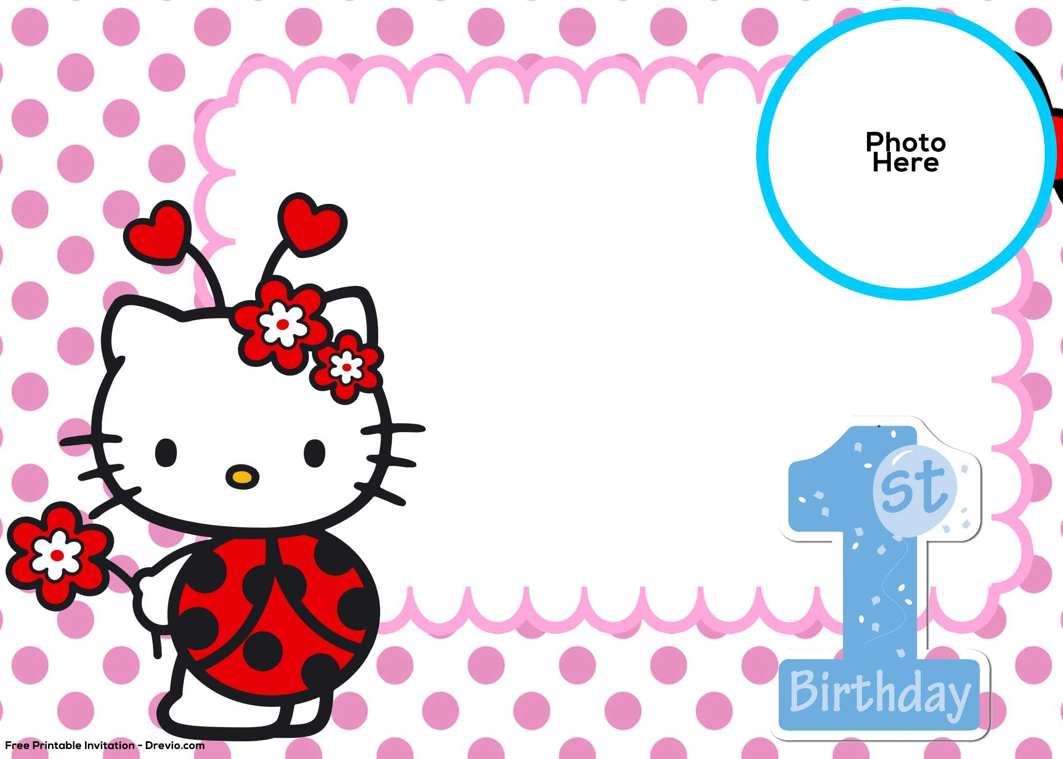 Hello kitty printable cutouts much fun clipart library for Hello kitty cut out template