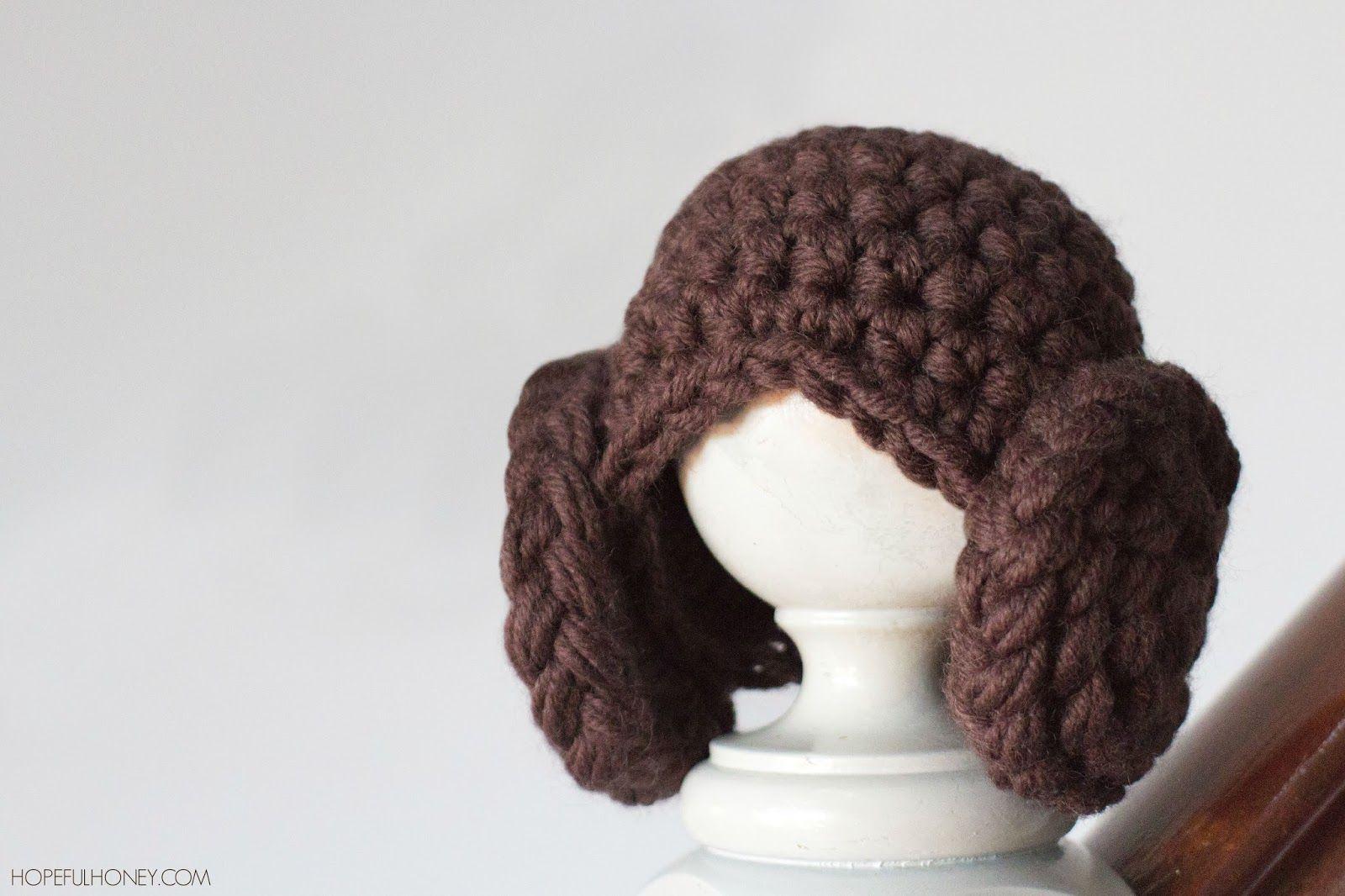 Princess Leia Inspired Beanie Crochet Pattern | Gorros