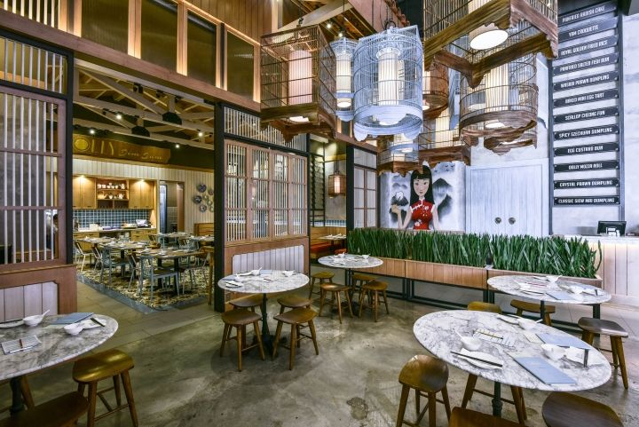 Dolly Dimsum Chinese Restaurant By Metaphor Interior Kuala Lumpur Malaysia Retail Design Blog