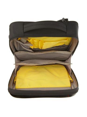 Hideo Wakamatsu Hybrid Hard Case Travel Backpack Black Black Backpack Backpacks Travel Backpack