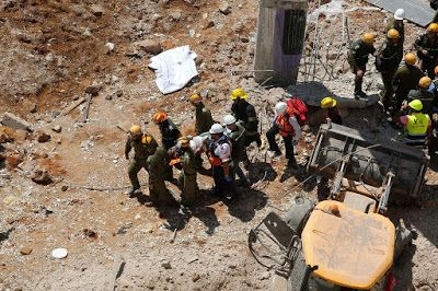 Welcome To 4ThStage's Blog!: Building collapse in Tel Aviv kills two, five…