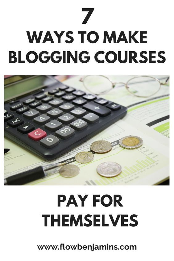 Figuring Out How To Make Blogging Courses Pay For