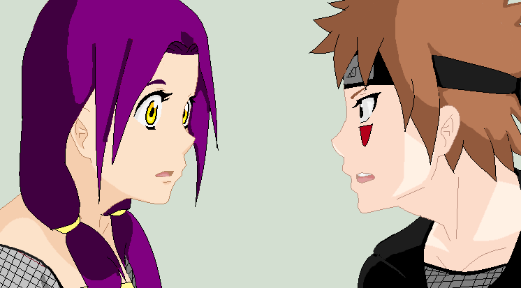 Estelle and Kiba, chapter 6 of my Naruto fanfic, This Is Who I Really Am