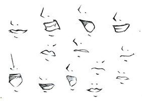 How To Draw Anime Boy Mouth Google Search Nose Drawing Anime Nose Mouth Drawing
