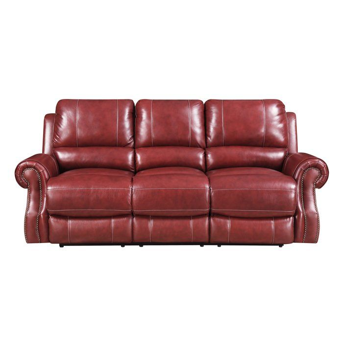 Superb Crete Leather Reclining Sofa Leather Couch Leather Machost Co Dining Chair Design Ideas Machostcouk