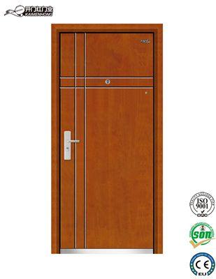 Kmh A753 Indian Steel Wood Model House Main Door Design Price