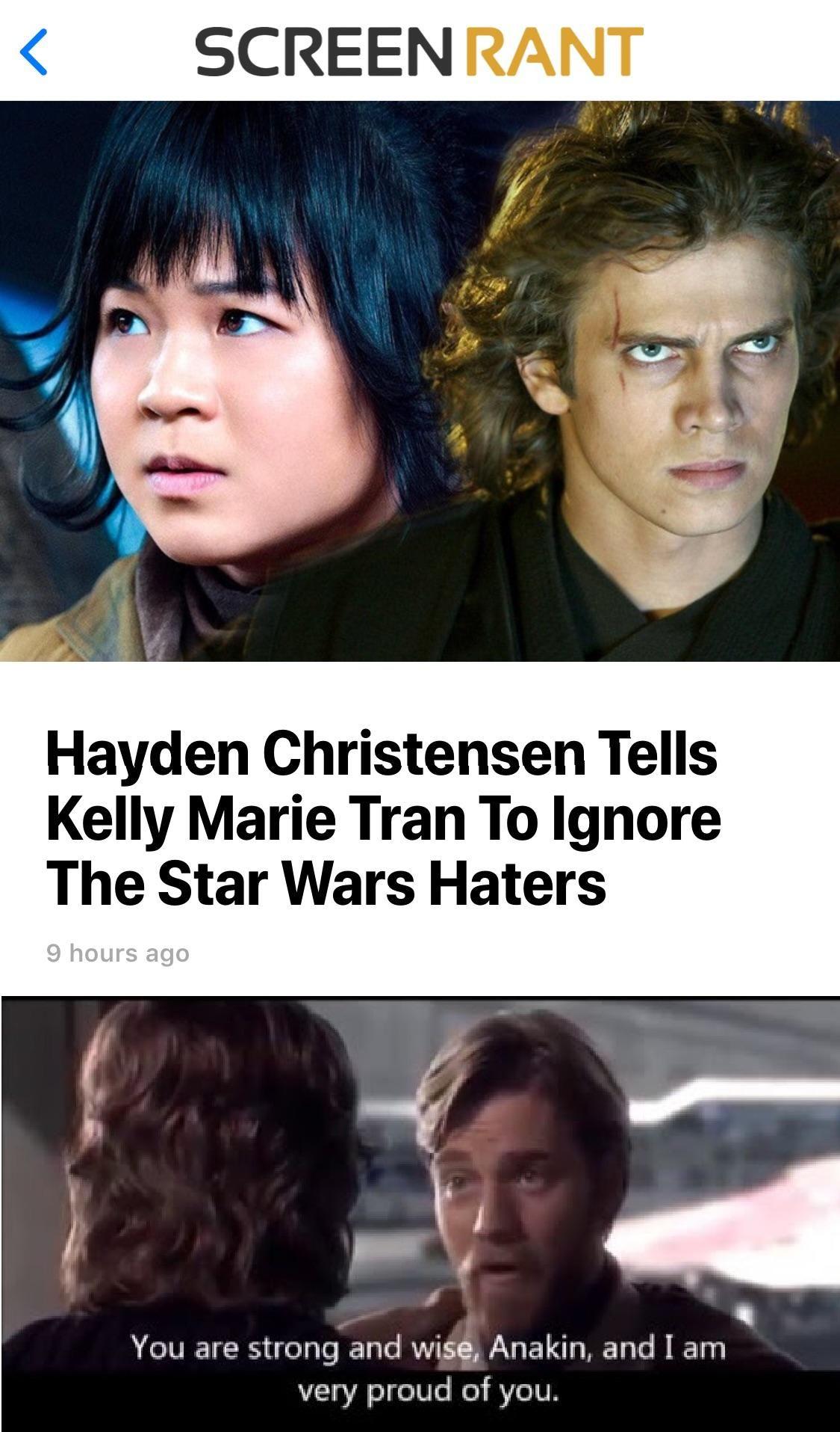 You Have Become A Far Greater Jedi Than I Could Ever Hope To Behttps I Redd It Vjrdnunj4bi11 Jpg Star Wars Memes Star Wars Humor Star Wars Jokes