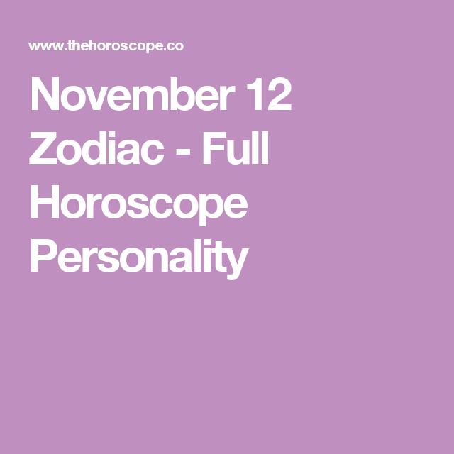 november horoscope by date of birth