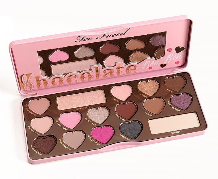 Paletas De Sombras Too Faced Chocolate En Sus Variadas Presentaciónes Paletas De Maquillaje Paleta De Sombras De Ojos Maquillaje Too Faced