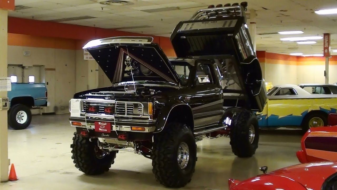 Custom Lifted Chevy S10 Supercharged Show Truck 4x4 | dodge ram w