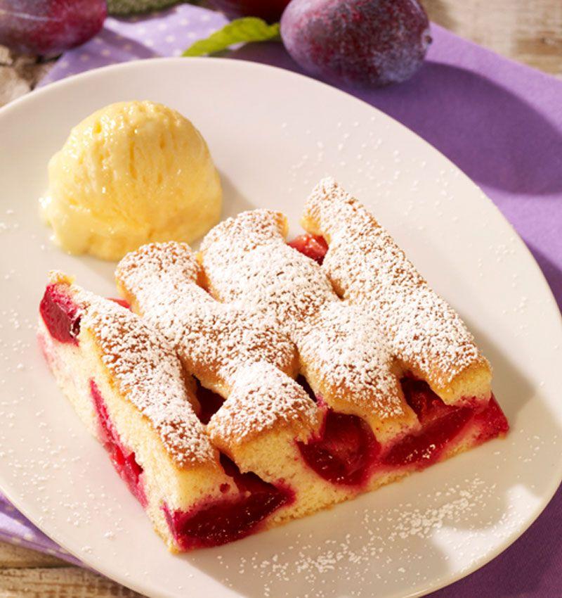 Deutsche Kuchen Rezepte: Schneller Pflaumenkuchen Vom Blech