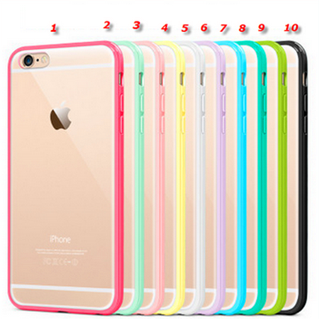 Iphone 6 Plus 6 Slim Matte Back With Pastel Frame Case In Assorted Colors Iphone Iphone Cases Apple Phone Case