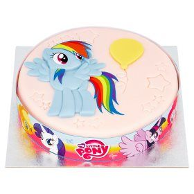 My Little Pony Celebration Cake Asda Groceries Character Cakes
