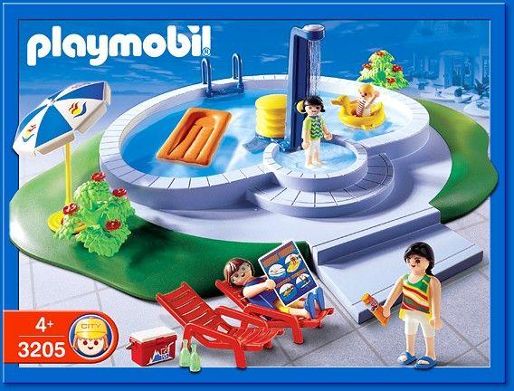 Playmobil swimming pool really cool things for kids pinterest playmobil dollhouse ideas - Piscine moderne playmobil ...