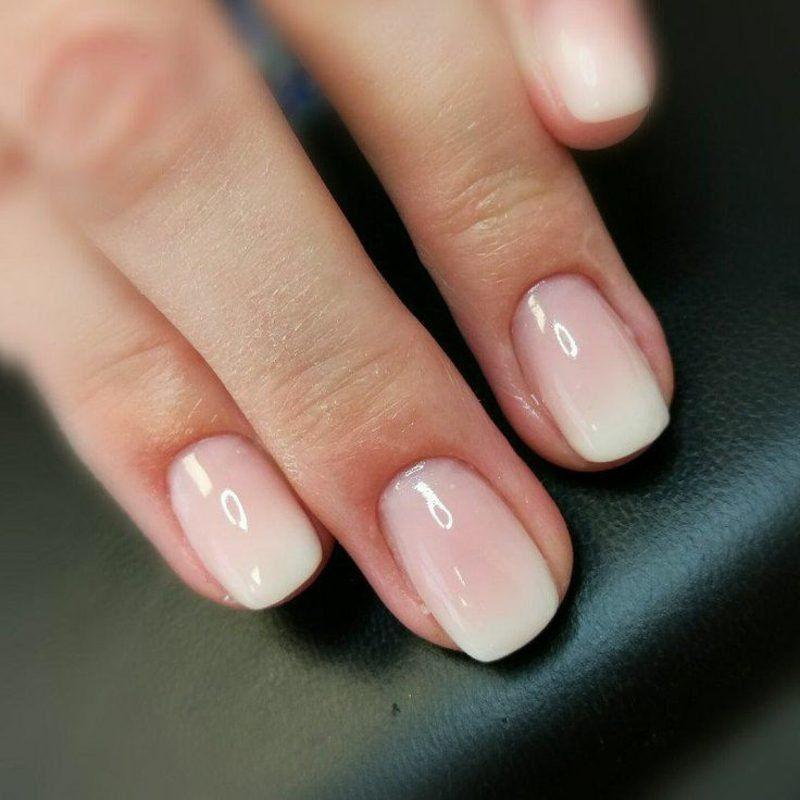 Babyboomer Nagel Selber Machen Schritt Fur Schritt Erklart Baby Boomers Nails Ombre Nails Trendy Nails