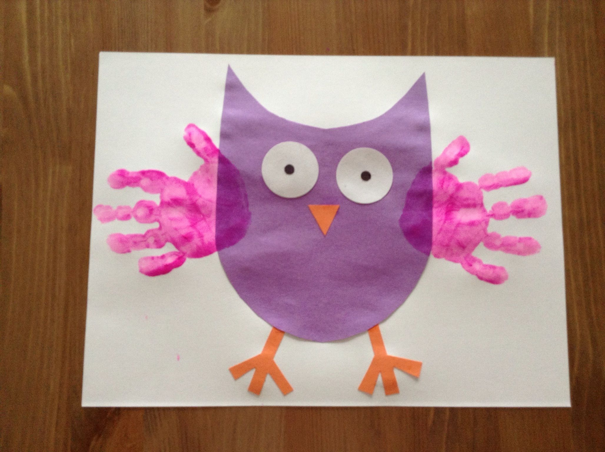 O is for Owl Craft - April 7