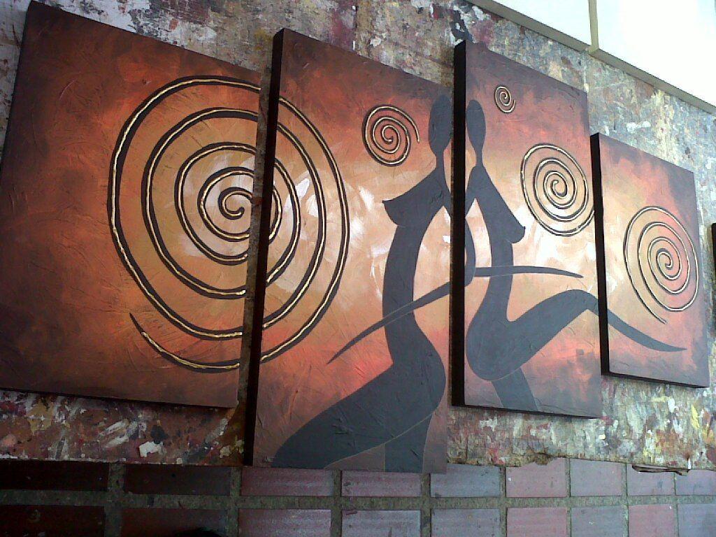 Cuadros modernos abstractos minimalistas santa cruz de - Cuadros abstractos minimalistas ...