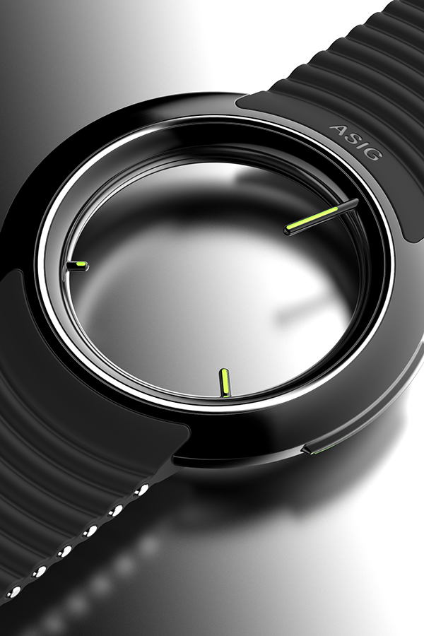 ASIG - nohero/nosky Concentric D. Wrist Watch on Behance | Rings ...