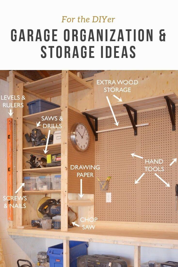Diy Garage Organization Ii In 2019 Diy Ideas Diy Garage