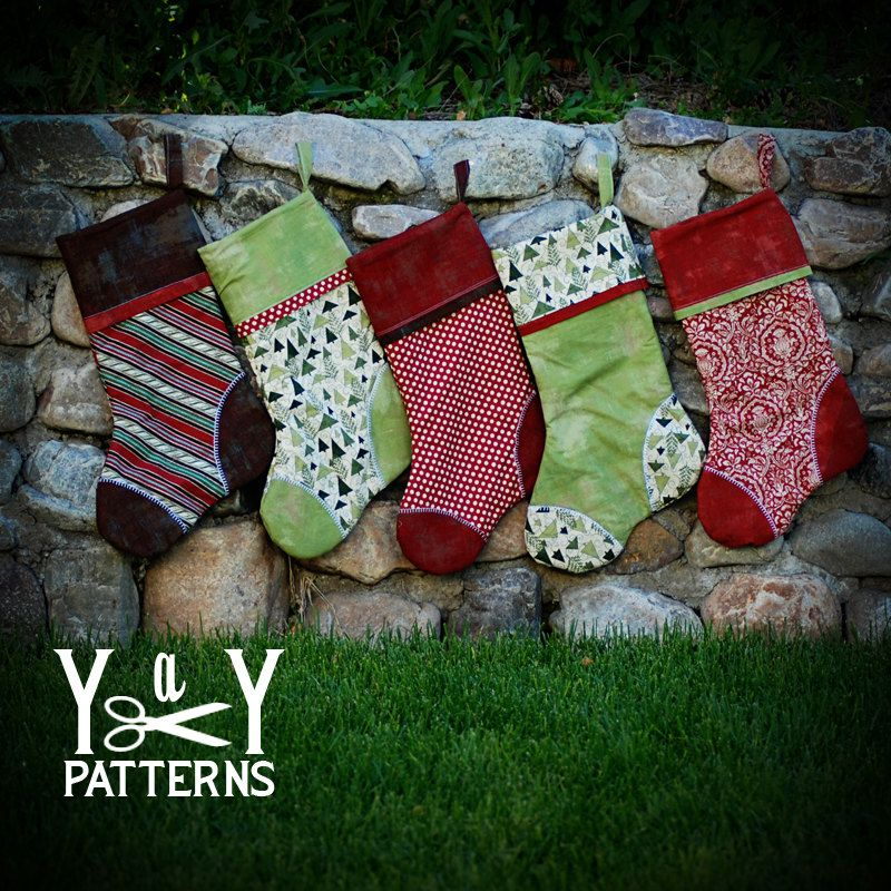 Old Fashioned Free Christmas Stocking Patterns Sewing Ideas ...