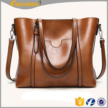 a5d9d2afc9 Large Capacity Tote Bags Wholesale Simple Womens Bag PU Soft Leather ...