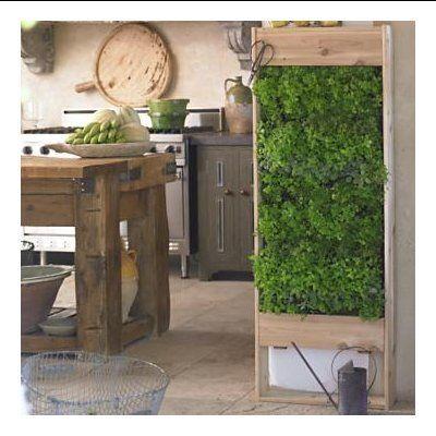 Jardinière Verticale De Fines Herbes | Idées Pour Le Jardin