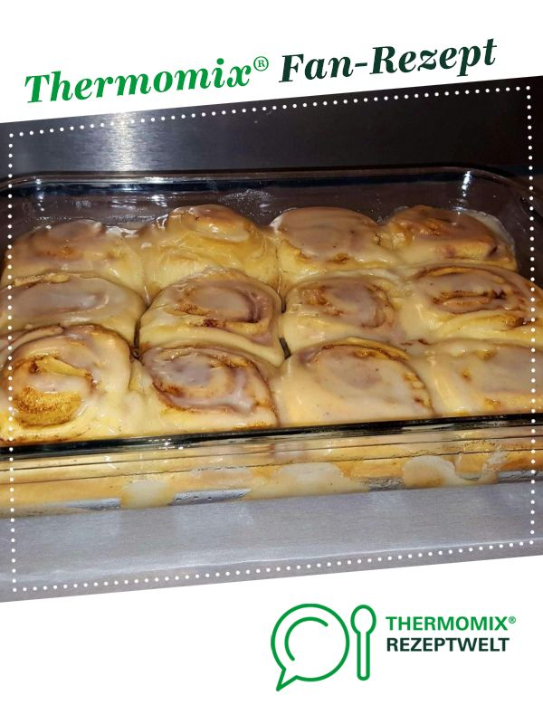 Photo of Cinnamon Buns – Zimtschnecken nach USA Rezept