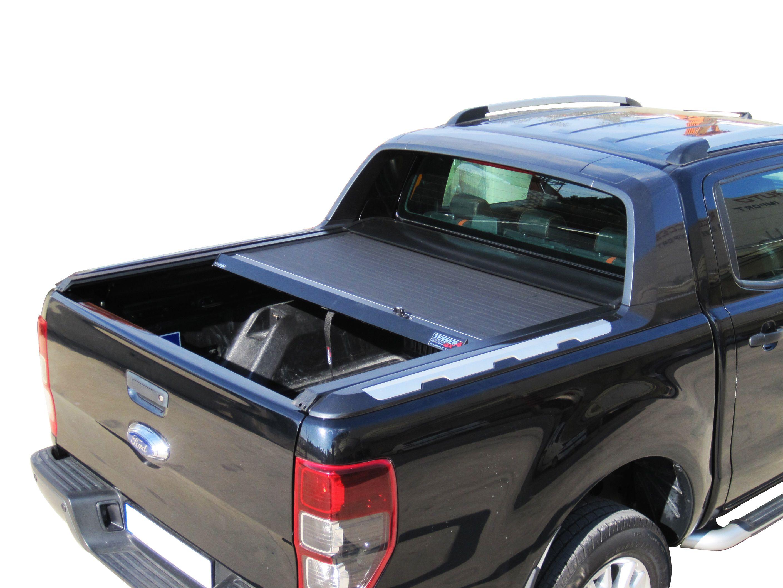 Ford Ranger T6 Black Edition Limited Aluminum Roller Lid
