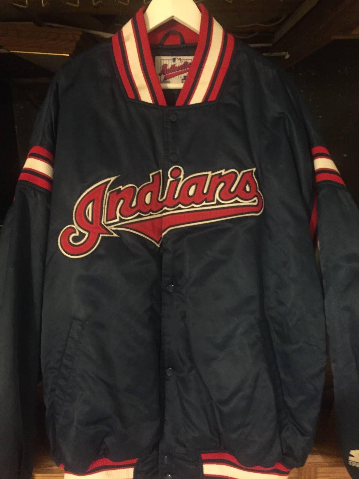 Starter Cleveland Indians Vintage Starter Jacket Size Xxl 125 Cleveland Indians Jackets Indian Jackets