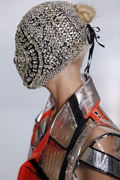 Total Inspiration Maison Martin Margiela Crystal Mask