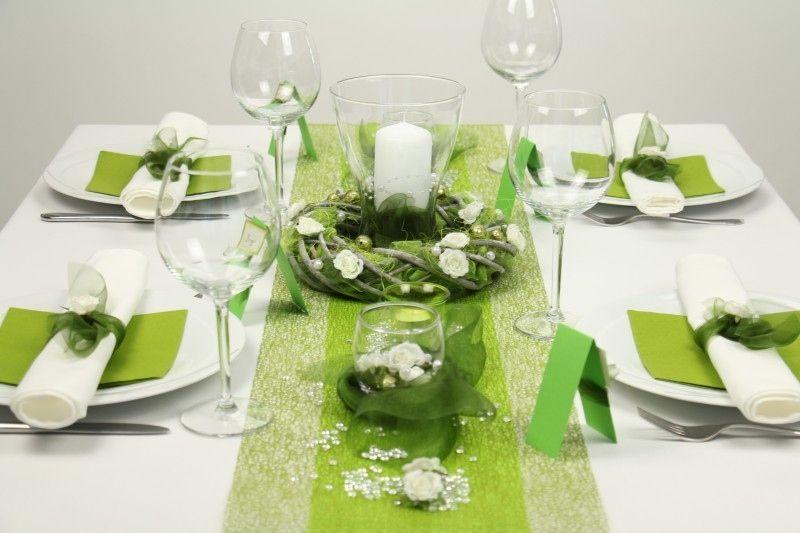 13 Schön Tischdekoration Weiß Grün Deko In 2019 Table