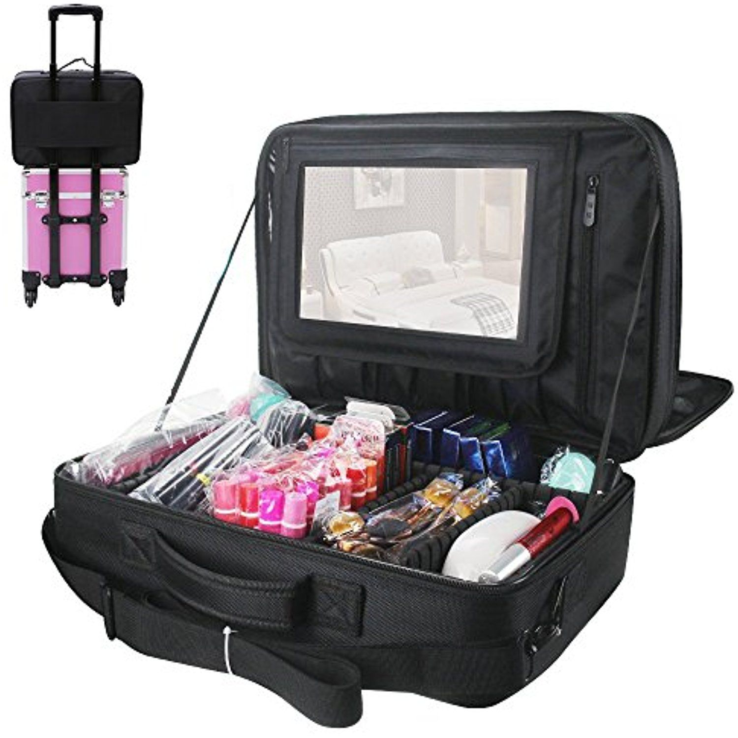 Travelmall 3 layer Multi Functional Professional Makeup