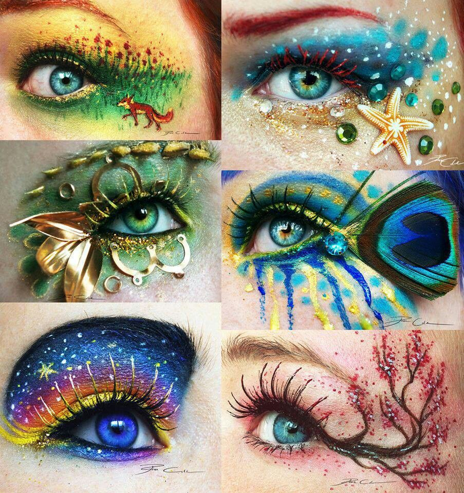 Pin by Anina Gralik on Eyes Eye art, Fantasy makeup, Makeup