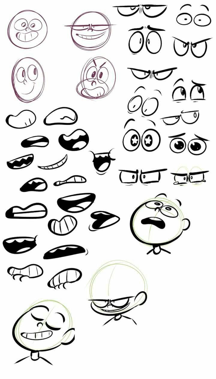 Face drawing image by Therisa Van der Merwe on Art