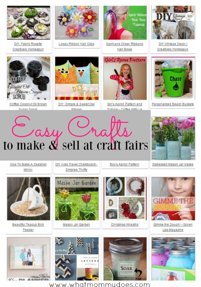 50 crafts you can make and sell diy craft projects for Easy crafts to make money from home