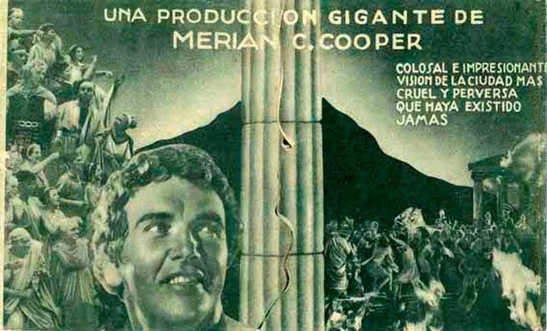 "Los últimos días de Pompeya (1935) ""The Last Days of Pompeii"" de Ernest B.  Schoedsack y Merian C. Cooper - tt0026605   Evolution, Historical,  Historical figures"