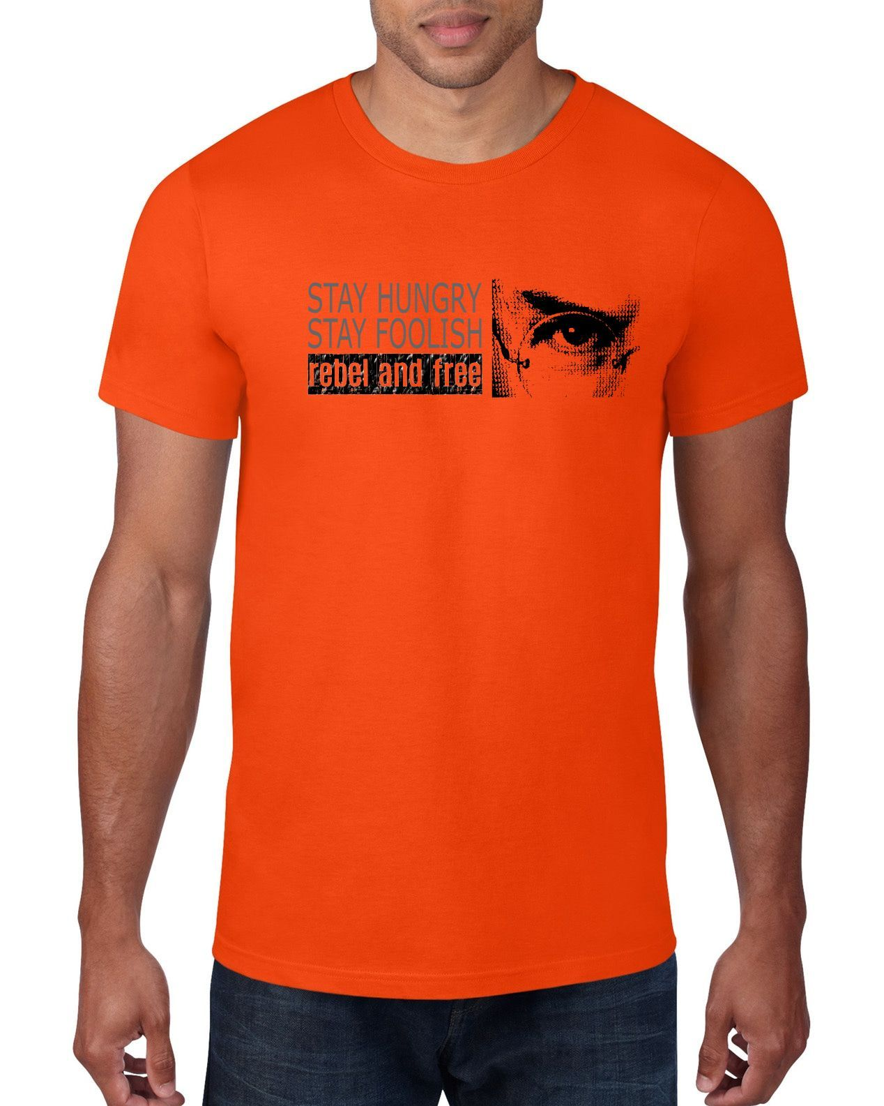 Stay Hungry Stay Foolish - Short sleeve t-shirt