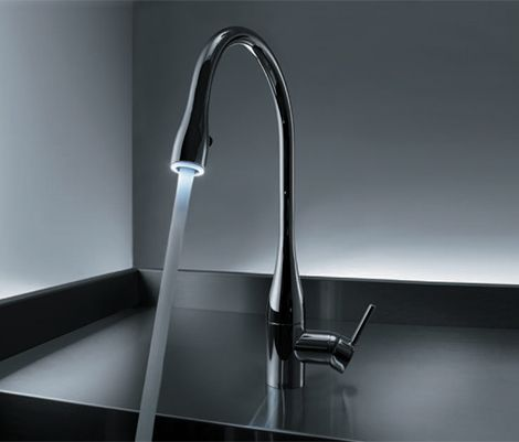 Nice Clean Design, Like The Height And The Lights. Handle Is A Step In The ·  Kitchen Sink FaucetsKitchen ...