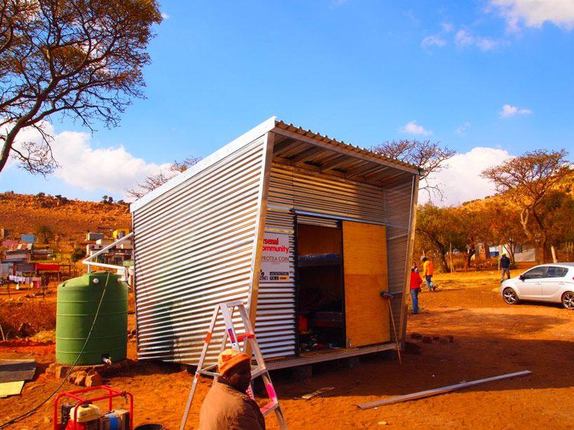 prefab mamelodi pod provides offthegrid housing in