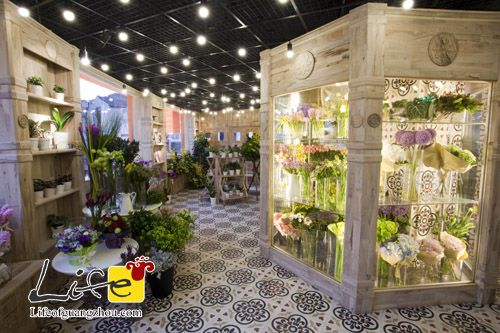 Flowers Shop Interior Design