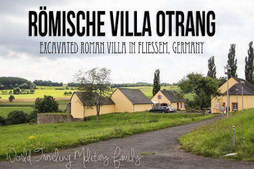 Römische Villa Otrang Fliessem, Germany. It's about a 15